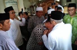 Cawapres Ma'ruf Amin Kunjungi Shinta Nuriyah