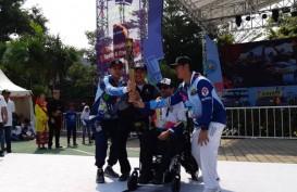 Obor Asian Para Games Menancap di Tempat Terakhir