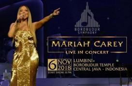 Borobudur Symphony Hadirkan Mariah Carey, Tiket Sudah Terjual 85%