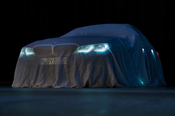 BMW Seri 3 Terbaru masih berselubung. - BMW