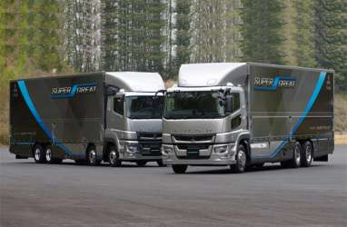 Mitsubishi Fuso Akan Sematkan Teknologi Otomotis Level 2 di Truk Berat Super Great