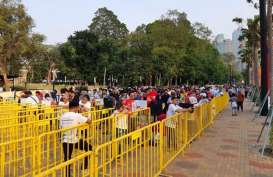 Jelang Pembukaan Asian Para Games 2018, Penonton Semakin Ramai
