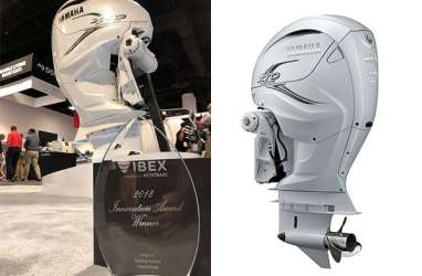 Motor Tempel Yamaha F425A Raih IBEX Innovation Award