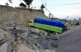 Jalur Trans Sulawesi di Sigi Sudah Dapat Dilalui Kendaraan Pascagempa Donggala
