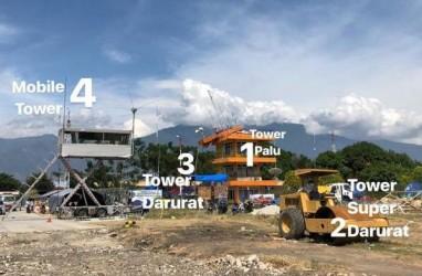 AirNav Indonesia Gunakan Mobile Tower di Bandara Palu
