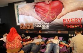 Sambut Ulang Tahun Ke-4, Amaroossa Grande Bekasi Gelar Donor Darah