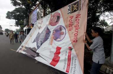 Ada 40 Titik Larangan Pemasangan Alat Peraga Kampanye di Surabaya