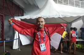 Medali Perpisahan Setyo Budi Hartanto dari Asian Para Games