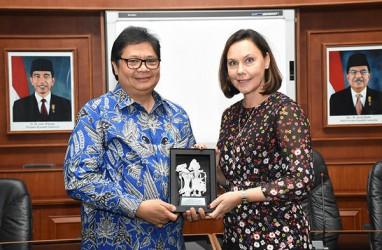 Finlandia Jajaki Peluang Kerja Sama Industri Pulp dengan Indonesia