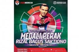 Rizal Bagus Saktiono Sumbang Perak di Asian Para Games 2018