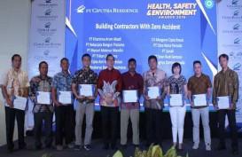 Ciputra Residence Beri Penghargaan Health, Safety & Environment