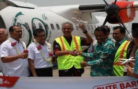 Wings Air Berhasil Terbang Perdana ke Karimunjawa