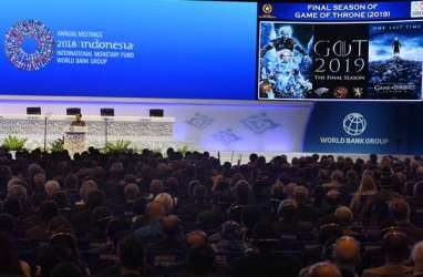 Annual Meeting IMF-World Bank Group 2018 Jadi Sentimen Positif Bagi Indonesia