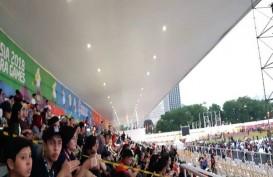 Jelang Penutupan Asian Para Games 2018, Stadion Madya Mulai Penuh