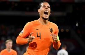 Bek Liverpool Virgil van Dijk Cedera, Absen Saat Belanda ke Belgia