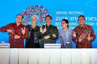 Pimpinan IMF dan Bank Dunia Dijadwalkan Pulang Hari Ini