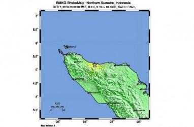 Gempa Aceh Barat Tak Picu Tsunami