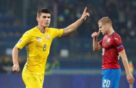 Hasil Nations League: Ukraina & Georgia Promosi, Gibraltar Menang Lagi