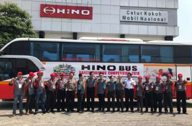 Hino Gelar Bus Safety Driving Competition di Surabaya