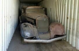 Wow, Buick 1934 Ini Dilelang Setelah 4 Dekade Dalam Kontainer