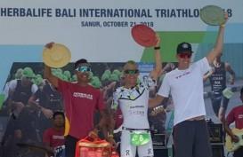 Atlet AS Juarai Herbalife Bali International Triathlon 2018