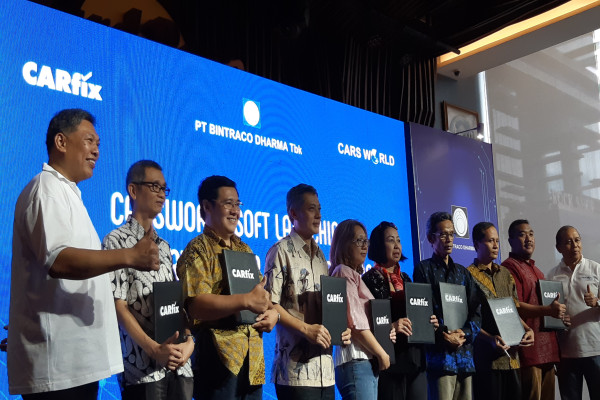 Sof launching CarsWorld oleh PT Industri dan Perdagangan Bintraco Dharma Tbk. - Bisnis/Novita S. Simamora