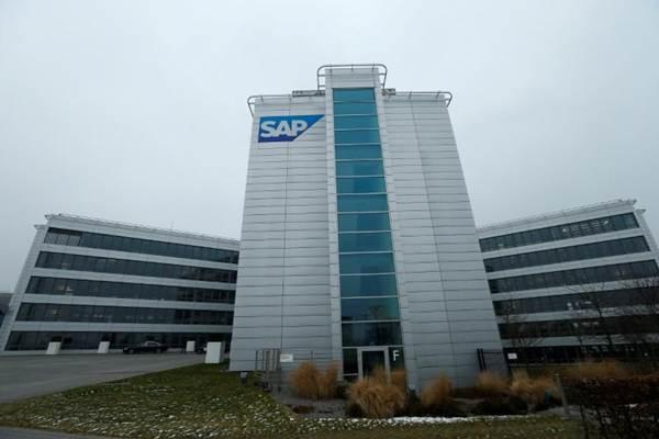 SAP korporasi penyedia peranti lunak multinasional berbasis di Walldorf, Jerman. - Reuters