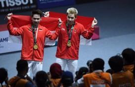 Final Denmark Terbuka 2018: Tampil Sempurna, Marcus Gideon/Kevin Sanjaya Juara
