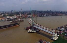 Jembatan Musi IV segera Rampung