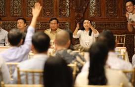 Prabowo Diskusi Dengan Puluhan Youtuber, Blogger, dan Vloger Milenial