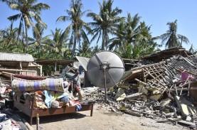 Rekonstruksi Gempa Lombok Lambat, Terkendala Miskomunikasi
