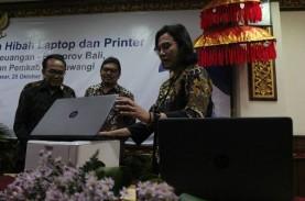 Hibah 500 Laptop Eks IMF-WB 2018, Menkeu Harap Lahir…