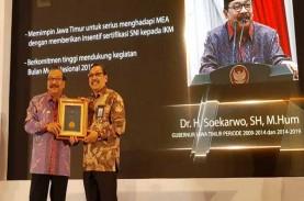Bisnis Indonesia dapat Penghargaan Standarisasi Nasional