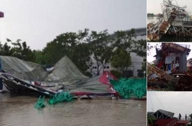Ini Penyebab Angin Langkisau Terjang Kompleks Jakabaring Palembang