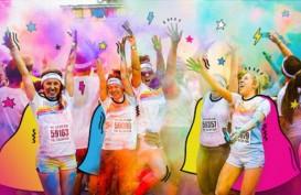 Rayakan Sumpah Pemuda, Millenials Ramaikan Color Run 2018