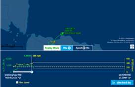 Ketinggian Lion Air JT 610 Ngedrop dari 5.400 ke 2.800 Feet, tapi Lajunya Bertambah
