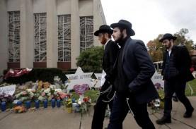 Trump Ditolak Umat Yahudi Kota Pittsburgh