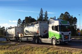 Truk Bioetanol Scania Pertama Mulai Menjejak Jalan