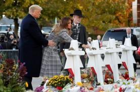 Kunjungi Lokasi Penembakan, Presiden Trump Disambut…