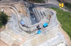 Pembangunan Bendungan Ladongi Rampung 41%