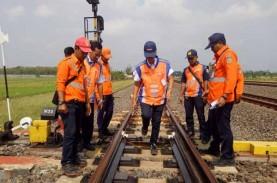 KAI Daop IV Cek Jalur Rel Pekalongan-Semarang