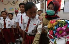 Imunisasi Campak Rubella, Papua Barat Tertinggi, NTT Ke-4