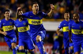 Dua Klub Argentina, Boca Juniors & River Plate, di Final Copa Libertadores