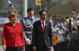Jokowi Terima Menteri Ekonomi Jerman di Istana Merdeka