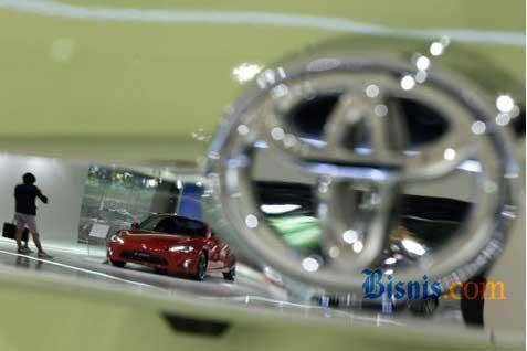 Diler Toyota.  - BISNIS.COM
