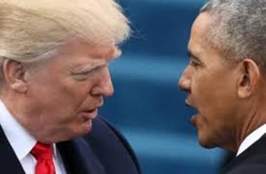 Adu Kampanye Trump vs Obama Warnai Pemilu Sela AS