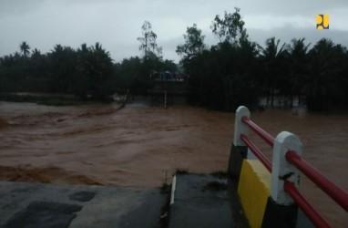 Jembatan Cipatujah Putus, PUPR Kirim Rangka Bailey