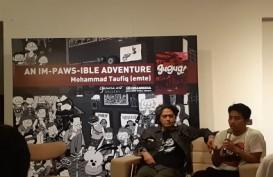 "Buku Silent Comic ""Gugug!"" Berkisah Tentang Jakarta"