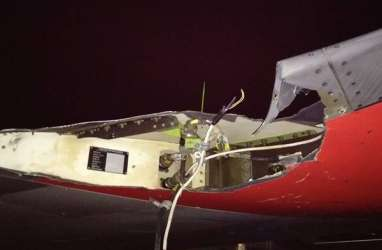 Kemenhub Investigasi Insiden Lion Air JT 633 Senggol Lampu Bandara Bengkulu