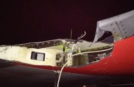 Lion Air JT 633 Senggol Tiang Lampu Bandar Bengkulu, Apron akan Ditata Ulang